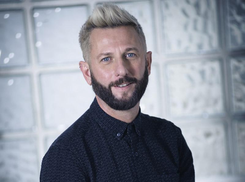 portrait Jerome Beaulieu directeur gerant salon coiffure coiffeur kut Paris